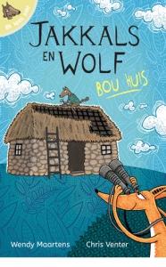 Ek lees self: Jakkals en Wolf bou huis picture 1862