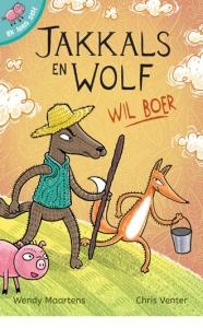 Ek lees self: Jakkals en Wolf wil boer  picture 1859
