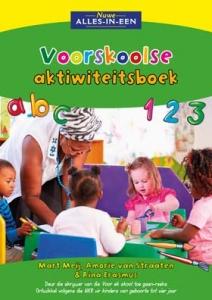 Nuwe Alles-In-Een Voorskoolse Aktiwiteitsboek  picture 2150