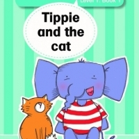 Learn to read (Level 1) 1: Tippie and the cat image